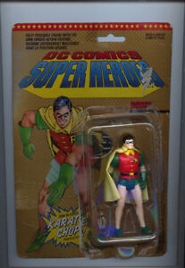 ROBIN THE BOY WONDER ACTION FIGURE  CHARAN TOYS 1989