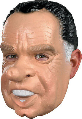 Nixon Halloween Political Mask