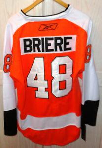 Daniel Briere Philadelphia Flyers Reebok CCM Jersey Sz 50 New