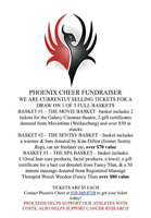 Phoenix Cheer Fundraiser- Cheer for the Cure