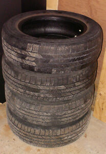 4 GOODYEAR  RADIAL TIRES