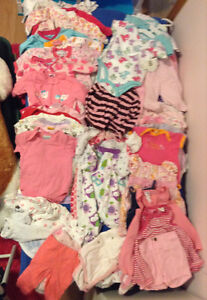 Various items : toys & baby clothes