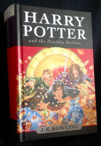 Harry Potter and the Deathly Hollows First Edition Hardcover
