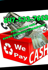 Licensed auto recyclers 6475337662 scrap car junk car rusty call