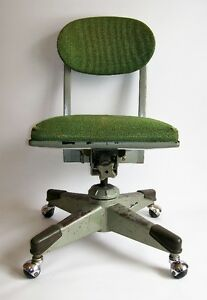 Chaise Vintage Années 50 - Mid-Century Royal Metal Office Chair