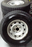 Toyo Observe GSi5 Winter Tires and Rims for 2013 RAM 1500