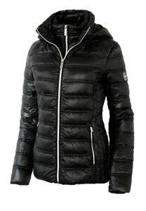 Michael Kors 100% Down Packable Hooded Puffer Jacket (small)