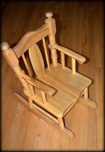 Chaise berçante pour enfant Lac-Saint-Jean Saguenay-Lac-Saint-Jean image 2