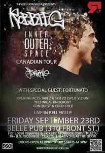Robbie G + Guests. Inner Outer Space Canadian Tour Sept 23rd