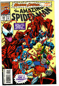 AMAZING SPIDER-MAN COMIC BOOK 380 MAXIMUM CARNAGE 11 OF 14