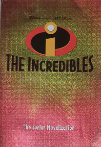 The Incredibles Junior Novel Chapter Book