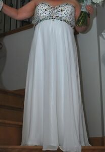 Cruise, wedding or prom dress