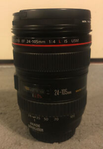Canon L Series Lens 24-105 F4 IS
