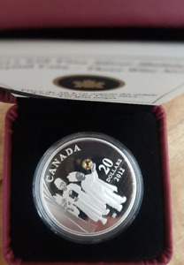 2012 $20 Silver Coin w/ Crystal - Three Wise Men