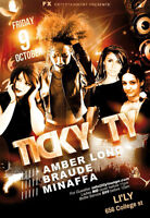 Ticky Ty Feat Amber Long and friends inside Li'ly Lounge