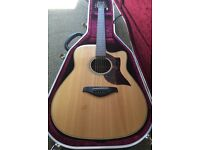 Yamaha A1M Electro Acoustic Guitar & Hard Case