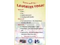 Laughter Yoga Thurs 5 th July 7pm All Welcome