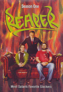 Reaper-Season 1 dvd box set-5 dvd set-Superb condition +bonus