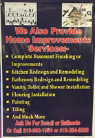 Complete Renovation Services by London Bath and Flooring Depot