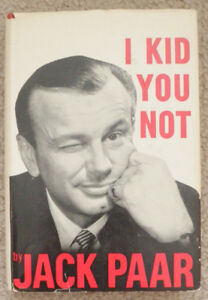 "Jack Paar book ""I Kid You Not"" and Jimmy Fallon magazine feature"