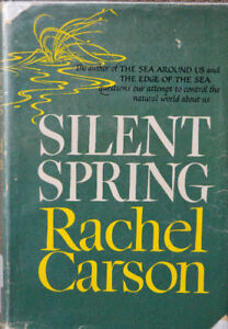"""SILENT SPRING"" by Rachel Carson, early (1st edition?)  5th prtg"