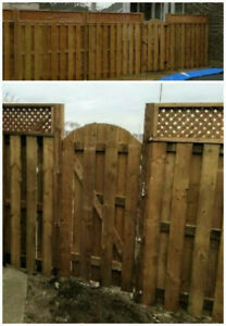 Fence, Deck, Landscaping and More