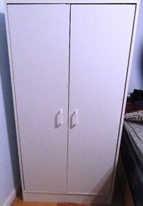 White Utility Cupboard