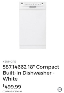 Kenmore Dishwasher NEW