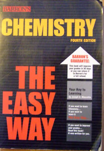 Barron's Chemistry The Easy Way - 4th edition
