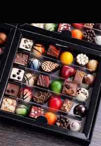 48 CHOCOLATE MOULDS & CHOCOLATE MAKING SUPPLIES/BOOKS