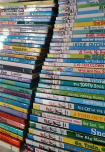 ▀▄▀ 88 Dr. Seuss (CAT IN THE HAT) Hardcover Books