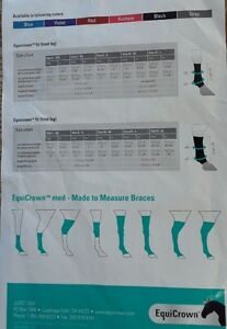 Horse Boots-EquiCrown Made to Measure Braces Strathcona County Edmonton Area image 4
