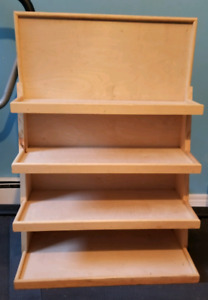 Soap display unit.  Great for craft shows or Retail store.