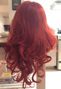 Beautiful Red Wig With Curls