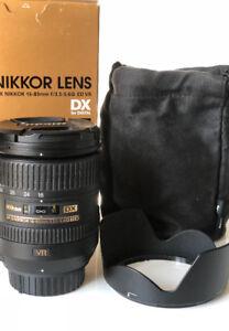 Nikon AF-S DX Nikkor 16-85mm f3.5-5.6 ED VR