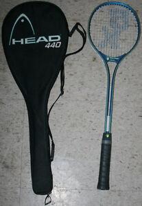 Various Tennis, Squash & Racquet Ball Raquets