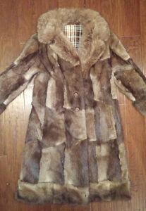 Warm FUR COAT Excellent Condition Medium Size