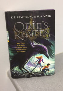 """""""Odin's Ravens"""" hardcover chapter book (ages 13+)"""