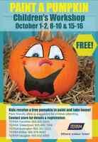 FREE Paint a Pumpkin Children's Workshop at TERRA Waterdown