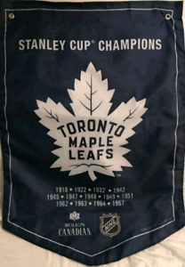 Toronto Maple Leafs Stanely Cup banner for trade