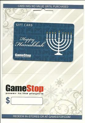 Happy Hanukkah GameStop Gift Card Collectible No $Value