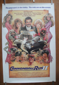 Cannonball Run II  (1984) Original Rolled Movie Poster