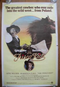 The Frisco Kid (1979) Original Rolled Movie Poster