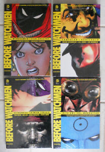Before Watchmen Deluxe Edition Hardcovers Full Set NEW! SEALED!