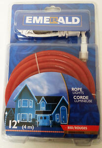 NEW -12' (4m) Rope Light --- Color RED