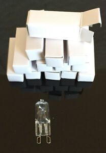 40W 120 Volt G9 Capsule Halogen bulbs only $2/each$2.00