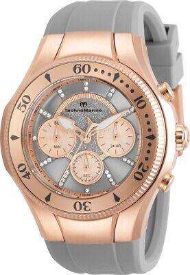 Technomarine TM-118139 Cruise Men's 45mm Rose-Tone Grey Rose Gold Dial Watch
