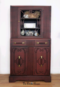 Charming red cabinet