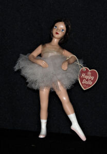 Nanette doll, figurine, ballerina, vintage early 1960s