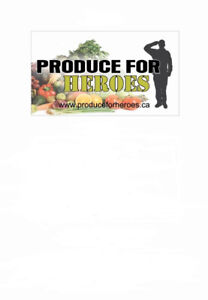 President needed on Board of Directors: Produce For Heroes
